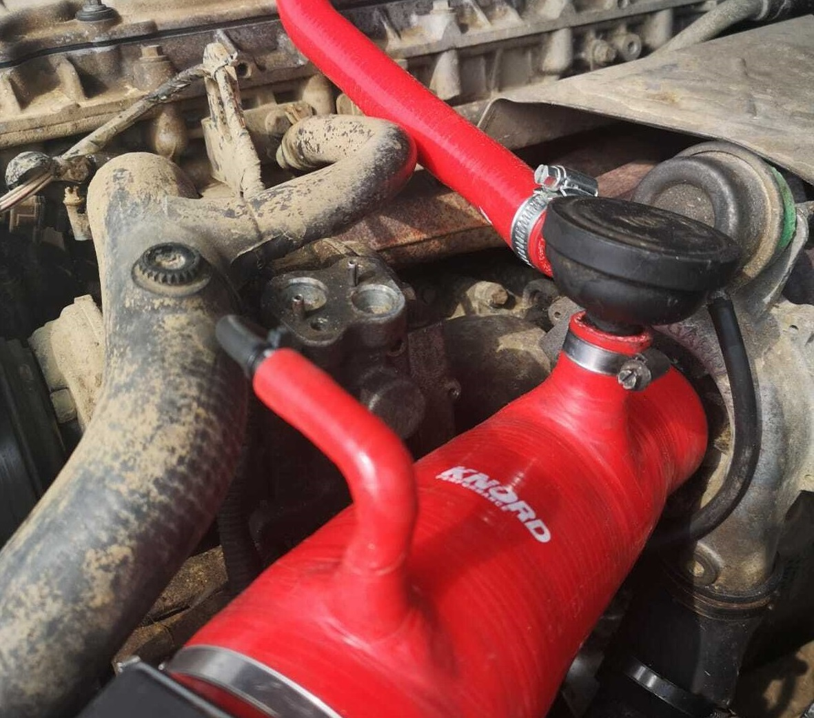 Silicone Engine Turbo Boost Hose Pipe Kit
